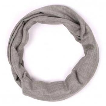 Cypress Melanage Organic Natural Cashmere Scarf