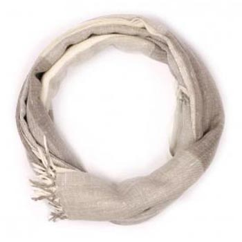 Pure Angora Natural Weave Merino Cashmere Scarf