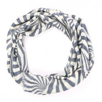 Zebra Pure Organic Hand Print Cashmere Scarf