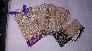 Jute Christmas Bag 06
