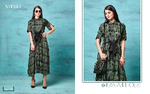 2301 Gown Style Kurti