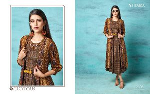 2306 Gown Style Kurti