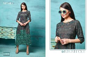 2309 Gown Style Kurti