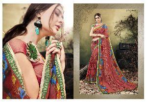 61086 Designer Saree