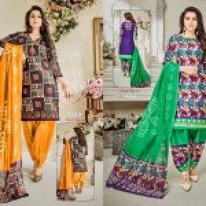 Batik Vol 7 Dress Materials 07