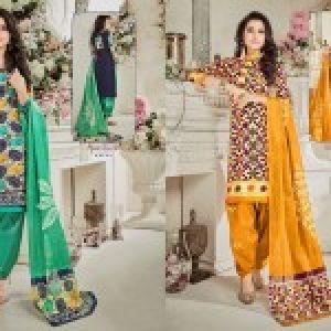 Batik Vol 7 Dress Materials 09