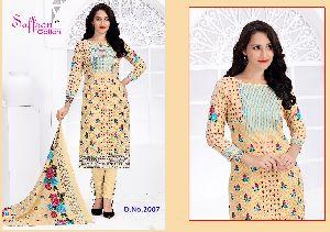 D. No. 2007 Zulekha Vol 2 Dress Material
