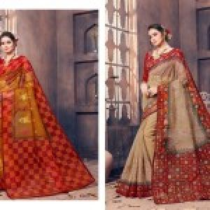 Gadhawal Cotton Vol-6 Sarees 05