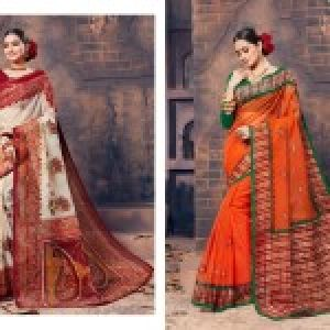 Gadhawal Cotton Vol-6 Sarees 06