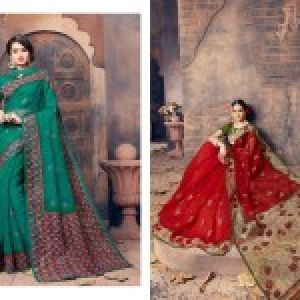Gadhawal Cotton Vol-6 Sarees 07