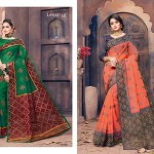 Gadhawal Cotton Vol-6 Sarees 08