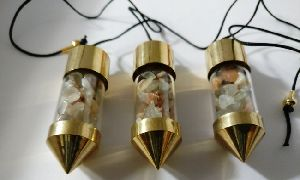 Moonstone Bottle Pendulums
