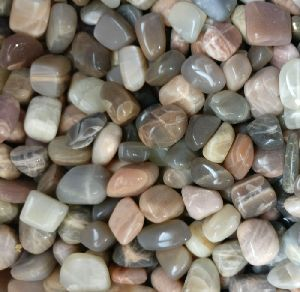 Moonstone Tumbled Polished Gemstones