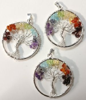 Tree of Life in Chakra Stones