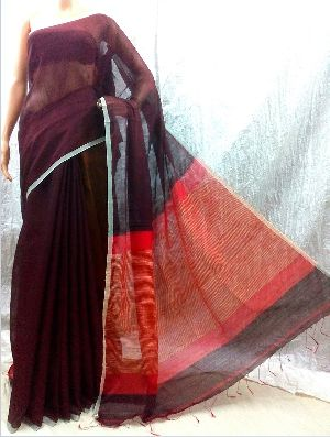Fashionable Exclusive Khadi Giecha Saree