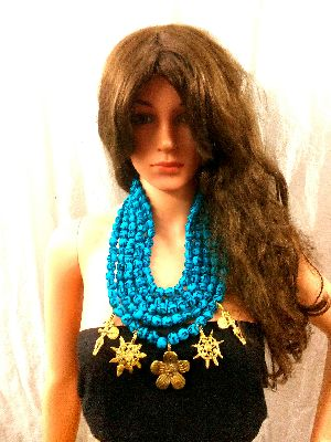Handmade Dokra Necklace Tribal Bollywood Fashion provide exquisite beauty