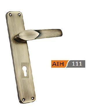 250mm Iron Mortice Door Handles