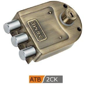 ATB 2CK Tri Bolt Door Lock