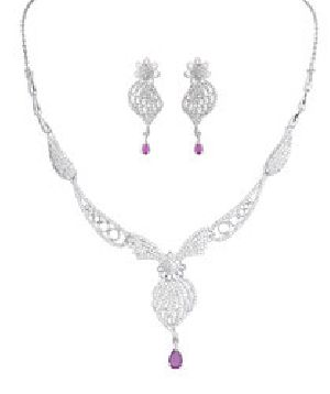 925 Sterling Silver Necklace Set 03