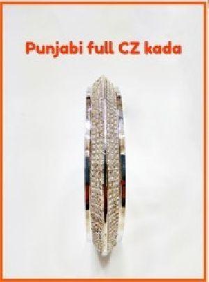 925 Sterling Silver Punjabi Kada 01