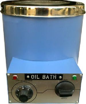 CYLINDERICAL OIL BATH