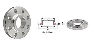 Slip On Flanges And  SORF Flanges
