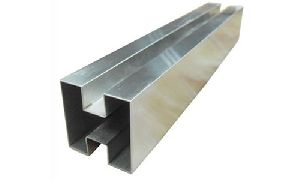 Stainless Steel Square Slot Pipe