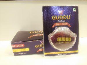 5 gm Guddu Saffrons