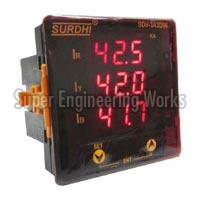 Digital Ammeter (3 Phase on 3 Display)