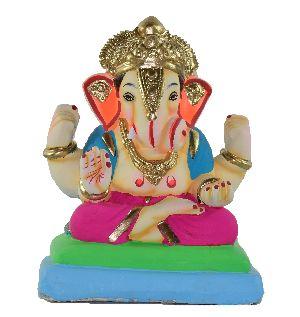 Clay Ganesh Statue 05