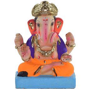 Clay Ganesh Statue 06