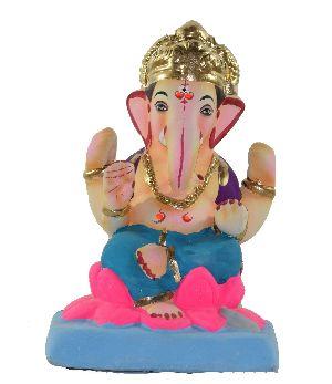Clay Ganesh Statue 09