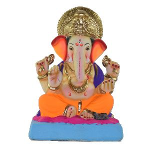 Clay Ganesh Statue 10