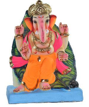 Clay Ganesh Statue 11