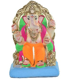 Clay Ganesh Statue 12