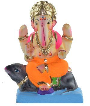 Clay Ganesh Statue 16