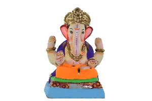 Clay Ganesh Statues