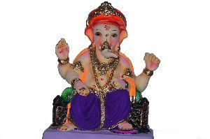 Gypsum Ganesh Statue 05