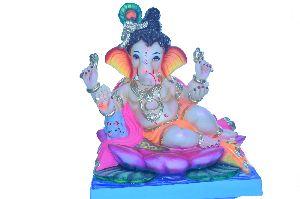 Gypsum Ganesh Statue 07