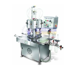 Vaccumetric Rotary Glass Bottle Filling Machine