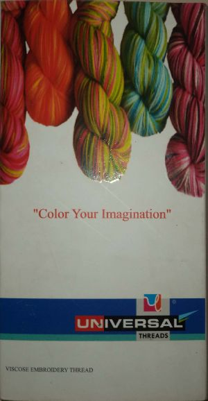 Viscose Embroidery Threads 14
