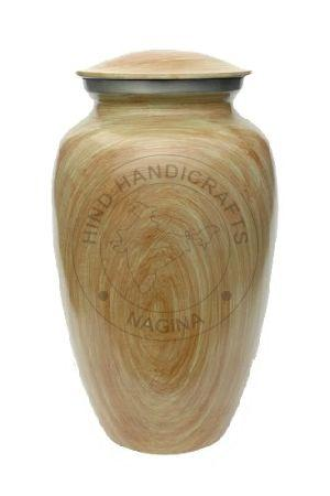 Brass Cremation Urn for Human Ash