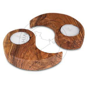 Wooden Tealights