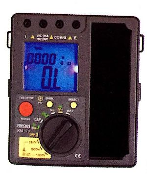 Digital Analog Insulation Resistance Tester