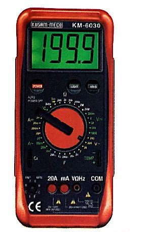 Digital Multimeter With Terminal Blocking System