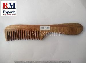 Wooden Comb 04