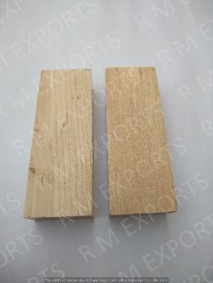 Stabilized Steam Beech Wood Flat Knife Scales RM SW 05