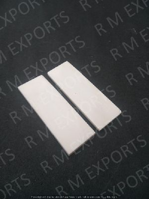 White Smooth Bone Polished Flat Scales