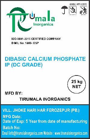 Dibasic Calcium Phosphate IP(dc grade)