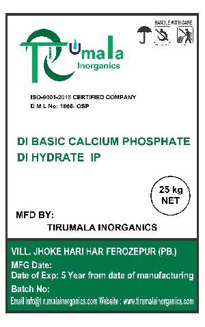 Dihydrate IP Dibasic Calcium Phosphate